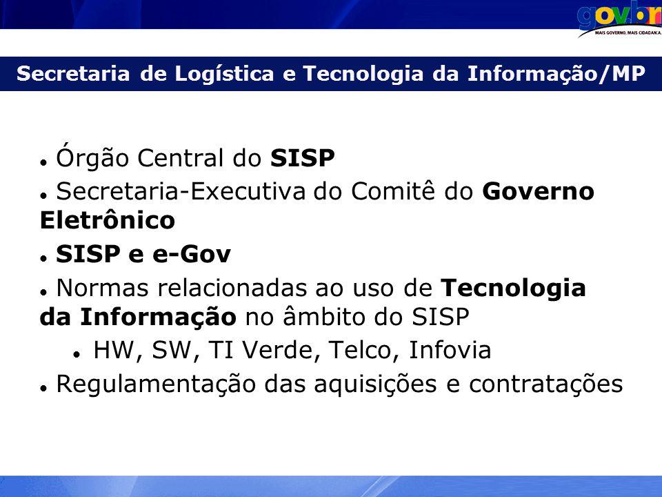 Secretaria de Logística e Tecnologia da Informação/MP