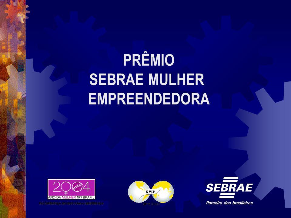 PRÊMIO SEBRAE MULHER EMPREENDEDORA
