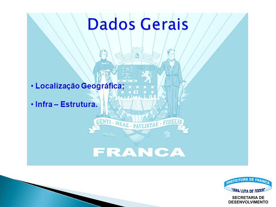 Dados Gerais Localização Geográfica; Infra – Estrutura.