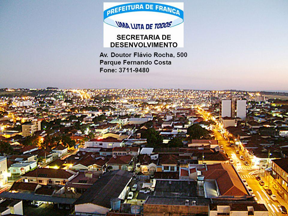Av. Doutor Flávio Rocha, 500 Parque Fernando Costa Fone: 3711-9480