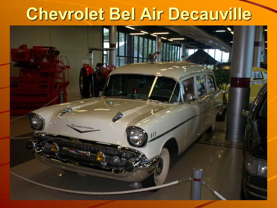 Chevrolet Bel Air Decauville