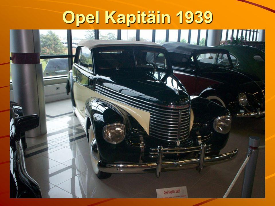 Opel Kapitäin 1939