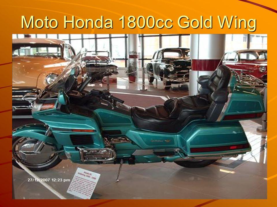 Moto Honda 1800cc Gold Wing