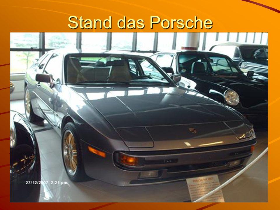 Stand das Porsche