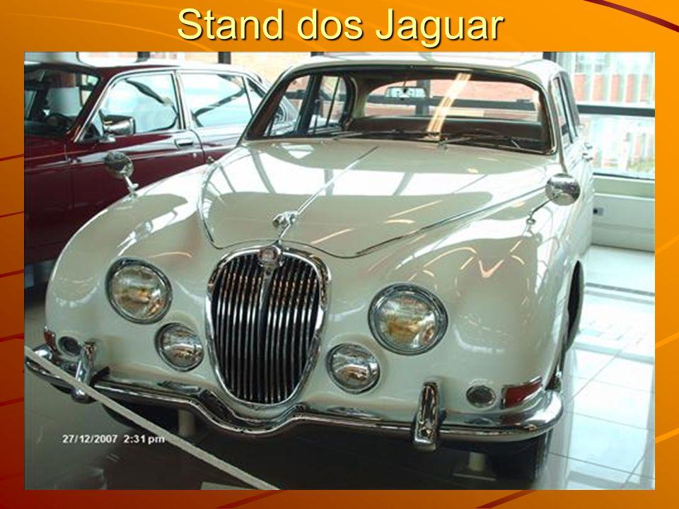 Stand dos Jaguar