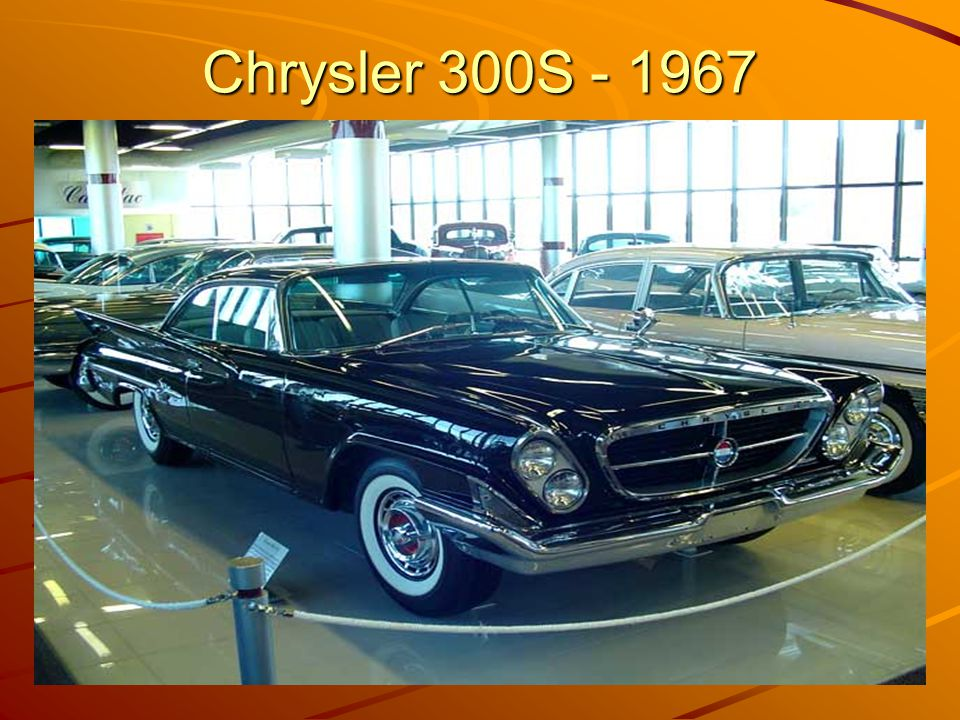 Chrysler 300S - 1967