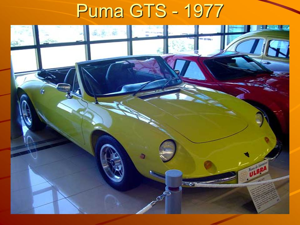 Puma GTS - 1977