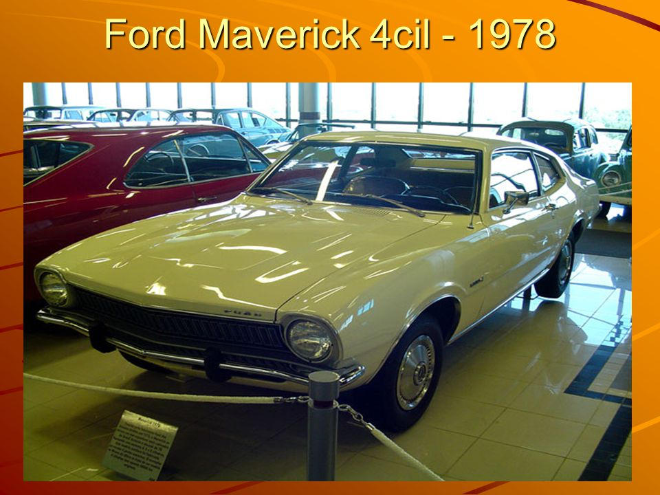 Ford Maverick 4cil - 1978