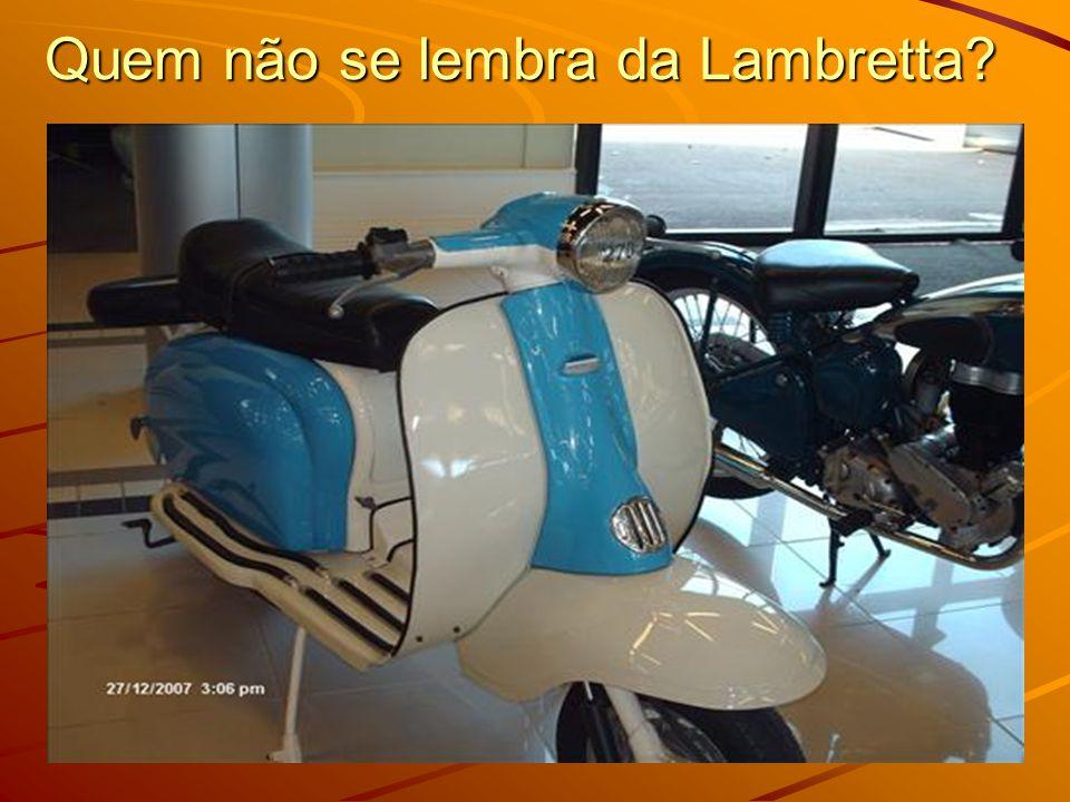 Quem não se lembra da Lambretta