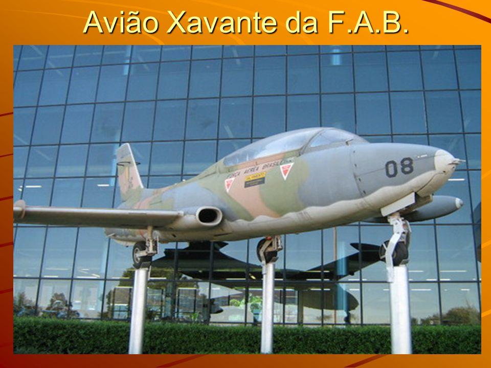Avião Xavante da F.A.B.