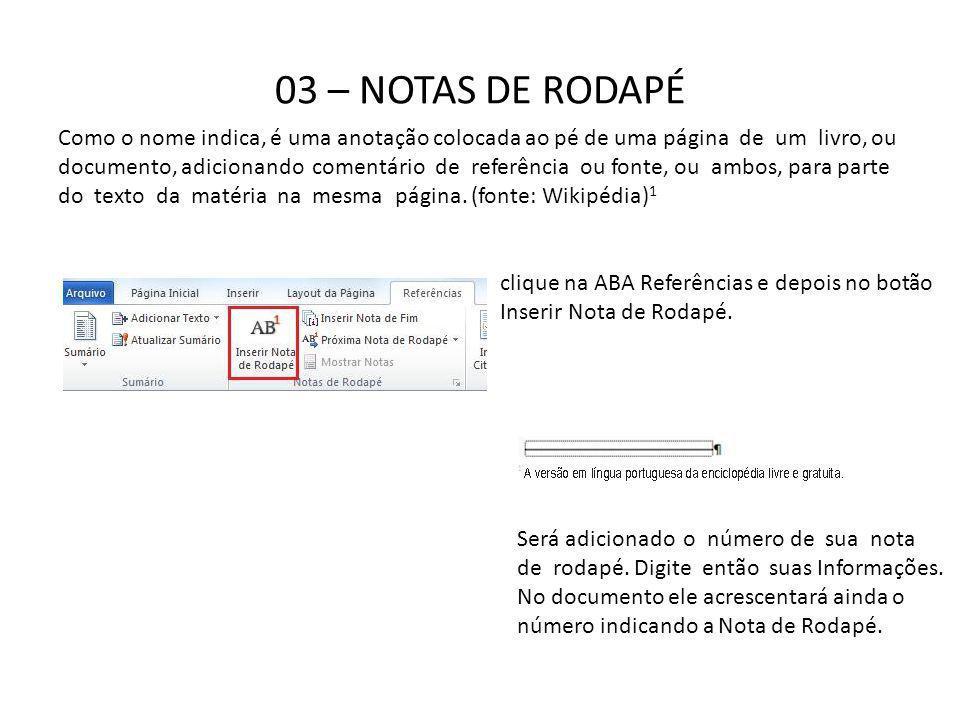 03 – NOTAS DE RODAPÉ