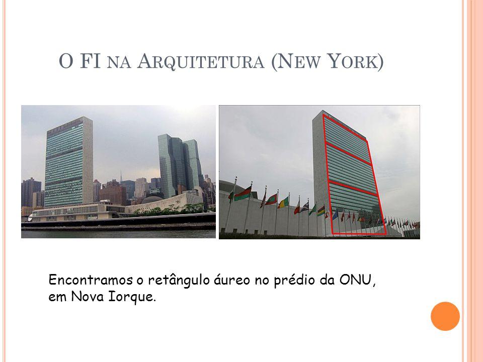 O FI na Arquitetura (New York)