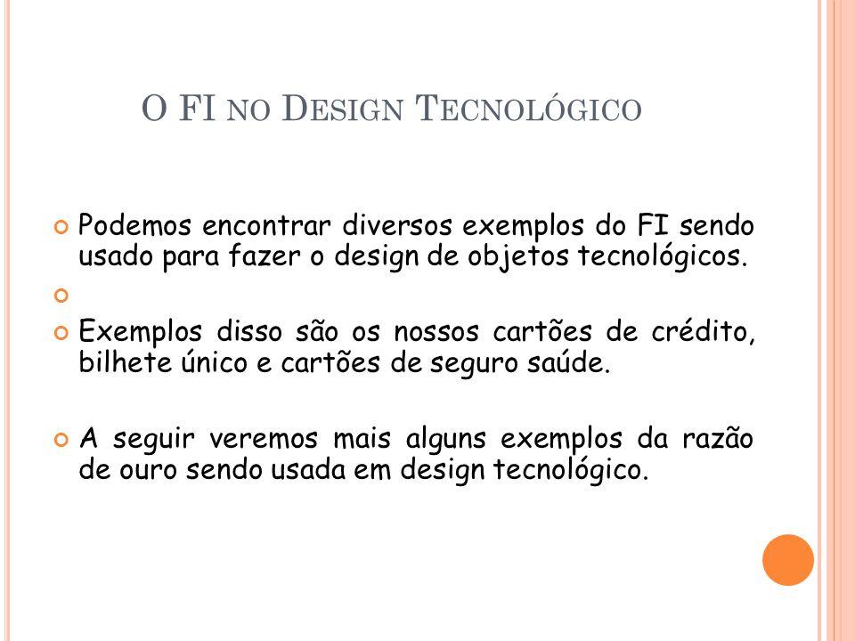O FI no Design Tecnológico