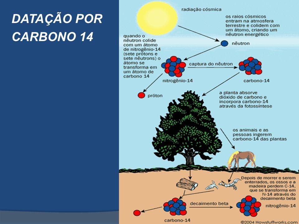 DATAÇÃO POR CARBONO 14