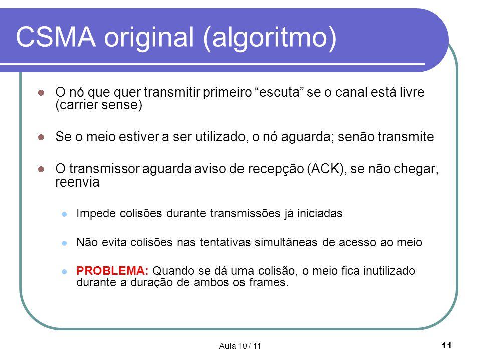 CSMA original (algoritmo)