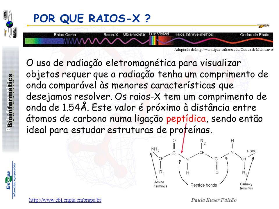 POR QUE RAIOS-X Adaptado de http://www.ipac.caltech.edu/Outreach/Multiwave/