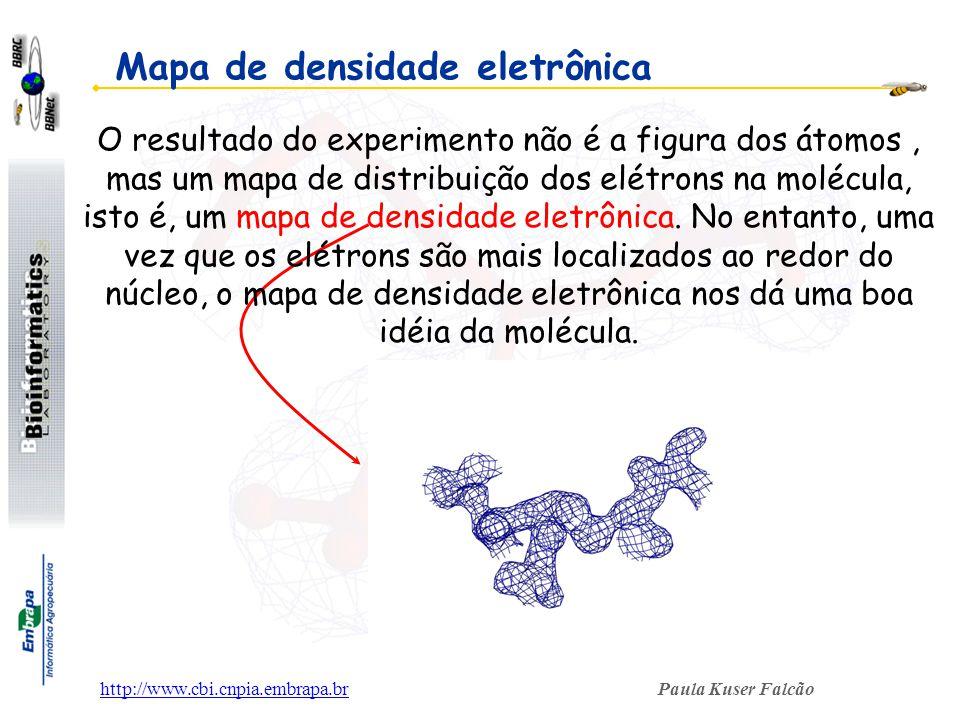 Mapa de densidade eletrônica
