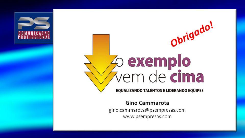 Obrigado! Gino Cammarota gino.cammarota@psempresas.com