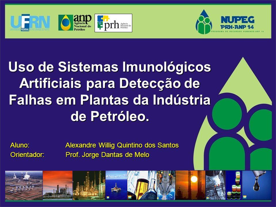 Uso de Sistemas Imunológicos Artificiais para Detecção de Falhas em Plantas da Indústria de Petróleo.