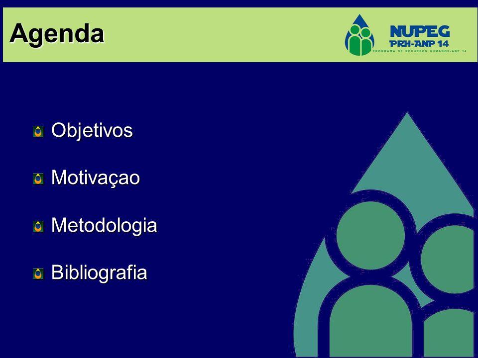 Agenda Objetivos Motivaçao Metodologia Bibliografia 2