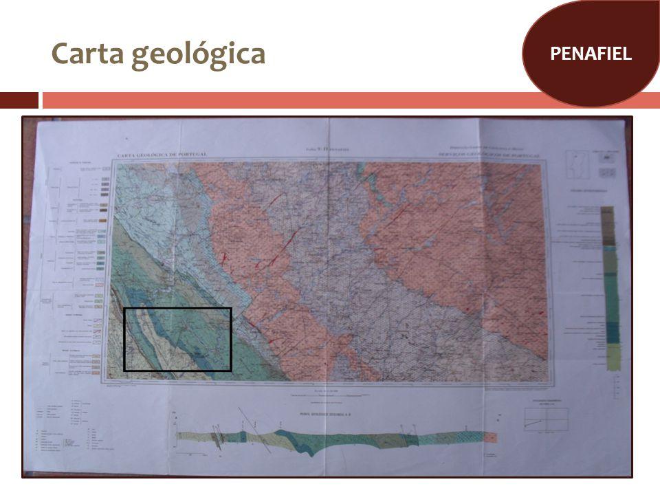 PENAFIEL Carta geológica