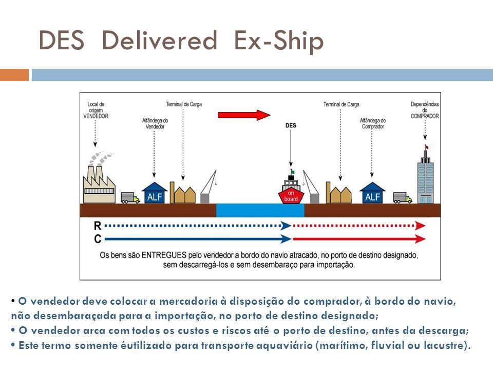 DES Delivered Ex-Ship