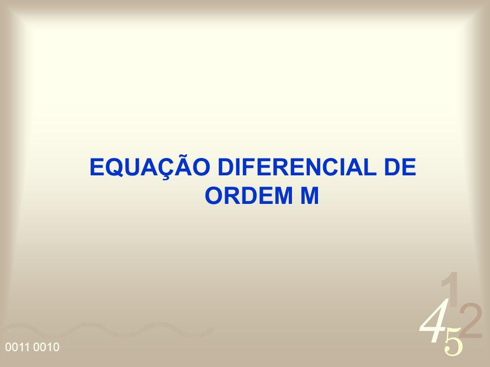 EQUAÇÃO DIFERENCIAL DE ORDEM M