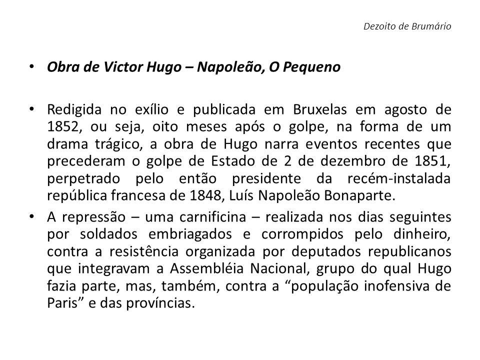 Obra de Victor Hugo – Napoleão, O Pequeno