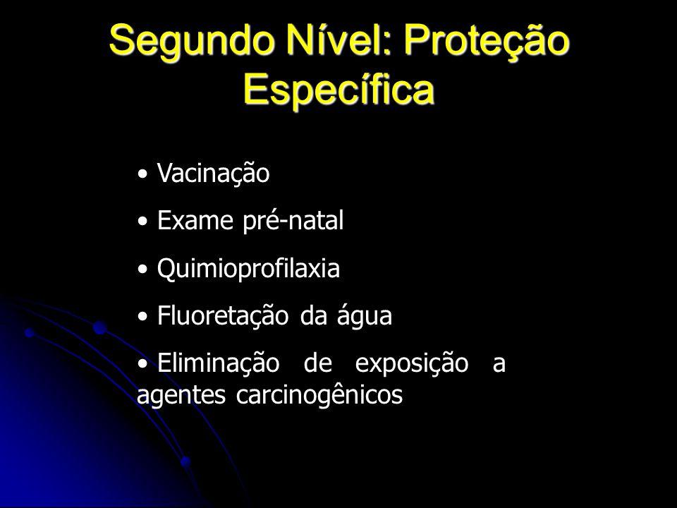 Segundo Nível: Proteção Específica