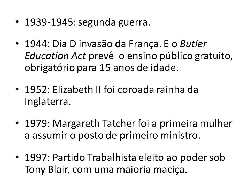 1939-1945: segunda guerra.