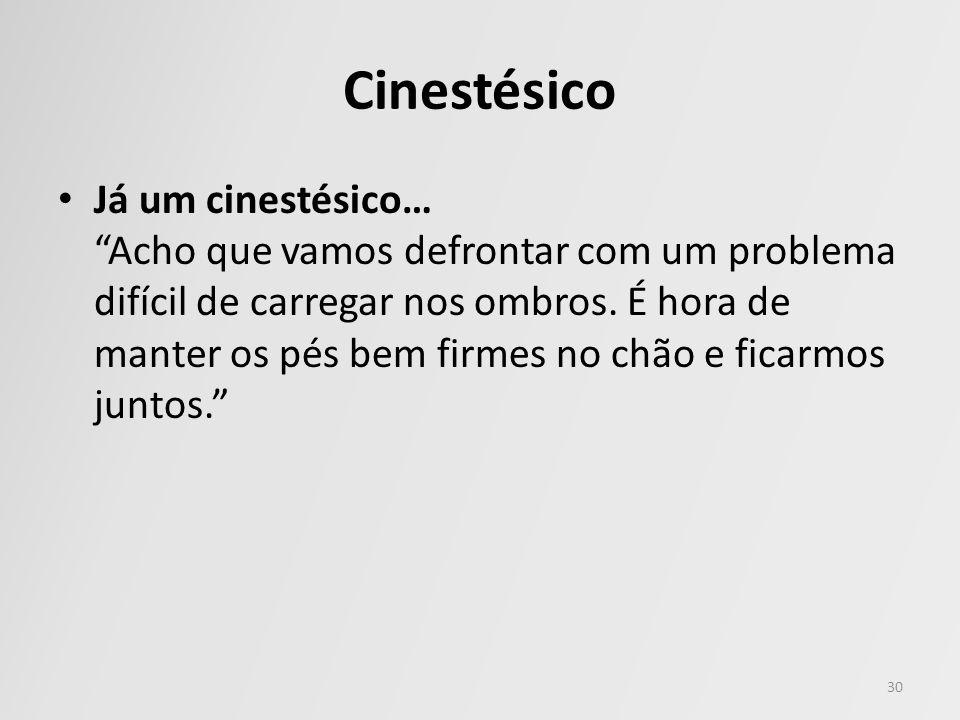 Cinestésico