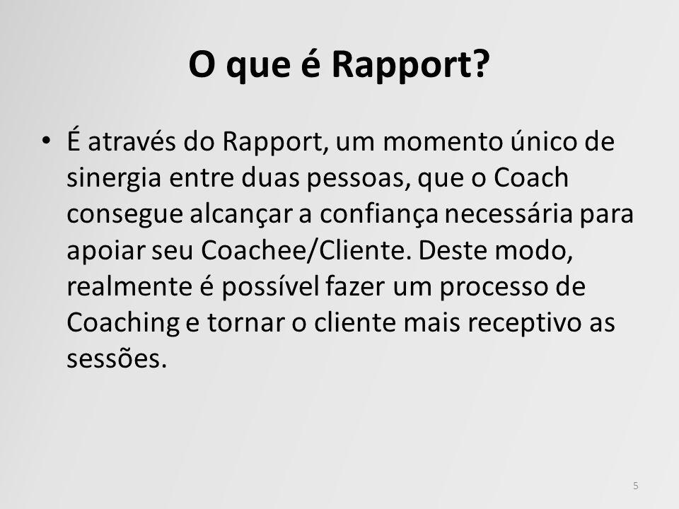 O que é Rapport