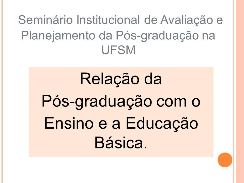 Ensino e a Educação Básica.