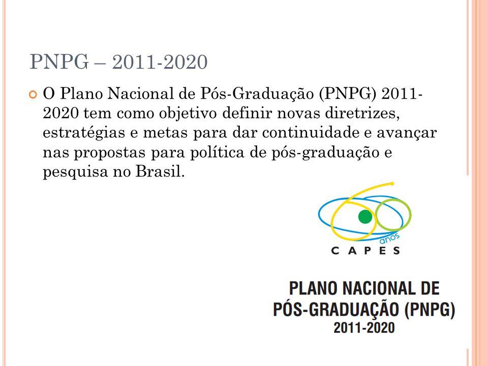 PNPG – 2011-2020