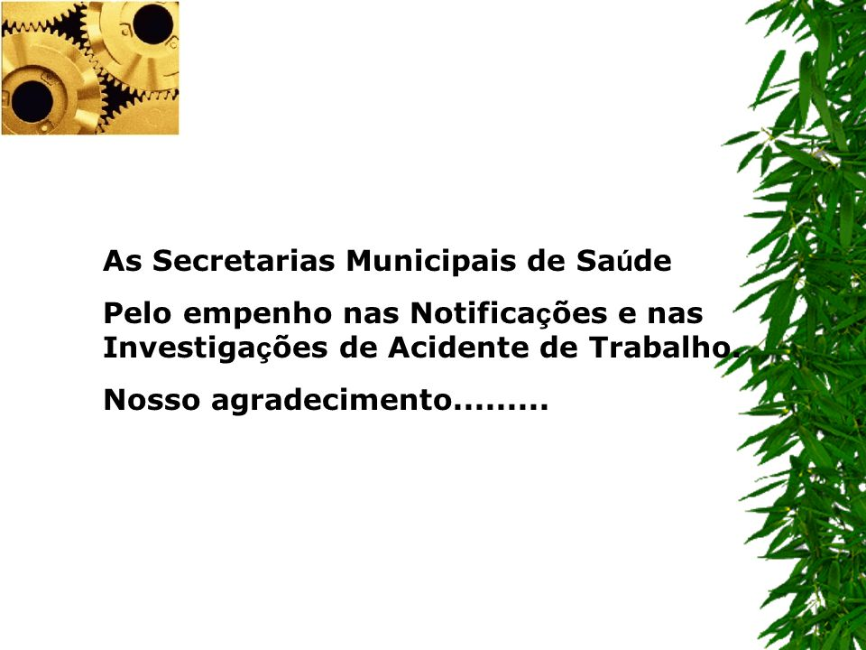 As Secretarias Municipais de Saúde