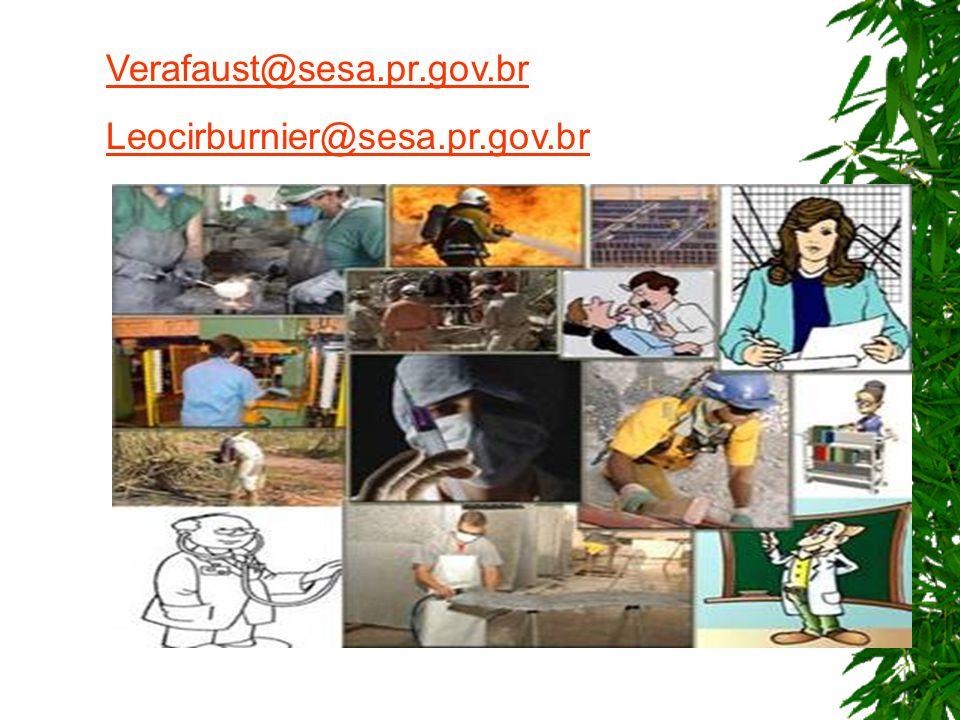 Verafaust@sesa.pr.gov.br Leocirburnier@sesa.pr.gov.br