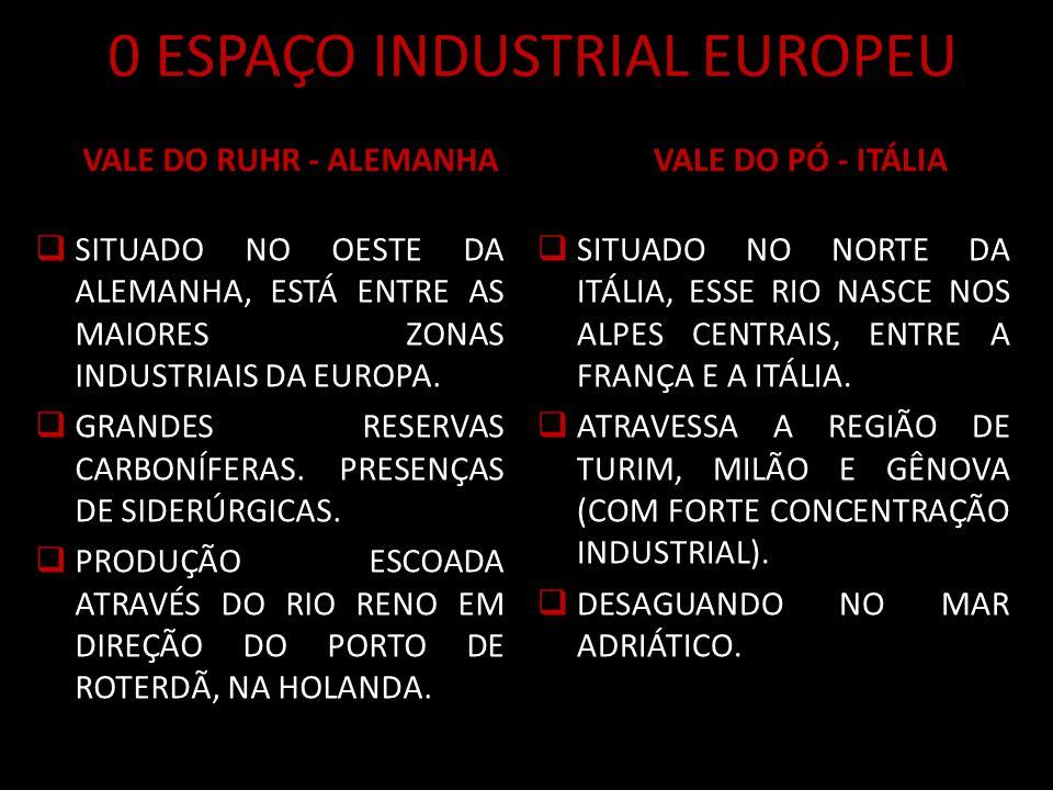0 ESPAÇO INDUSTRIAL EUROPEU