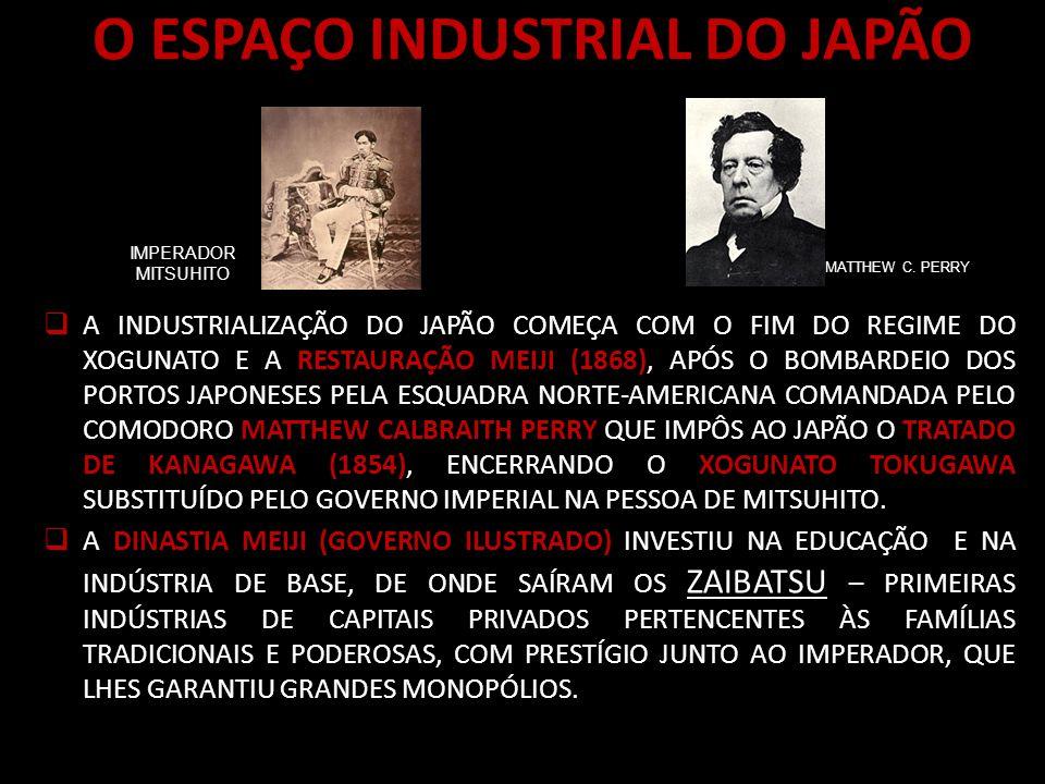 O ESPAÇO INDUSTRIAL DO JAPÃO