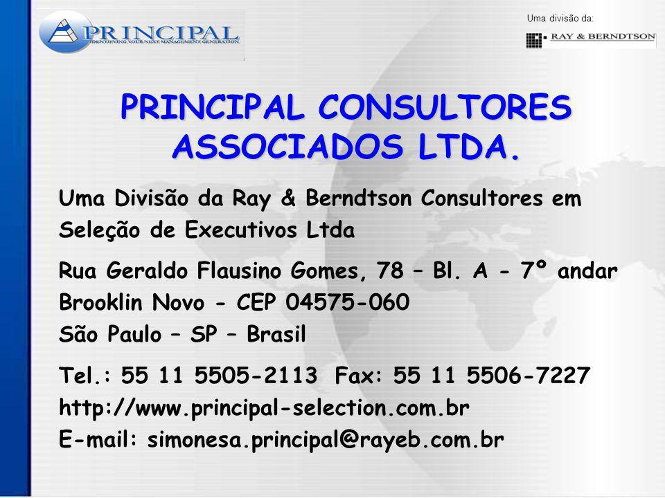 PRINCIPAL CONSULTORES ASSOCIADOS LTDA.