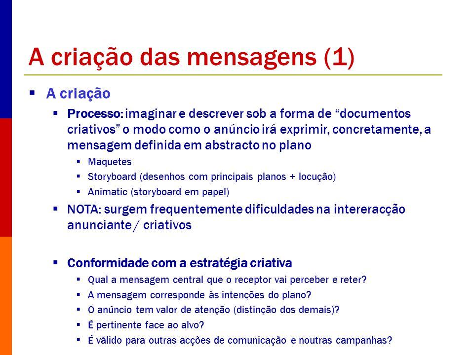 A criação das mensagens (1)