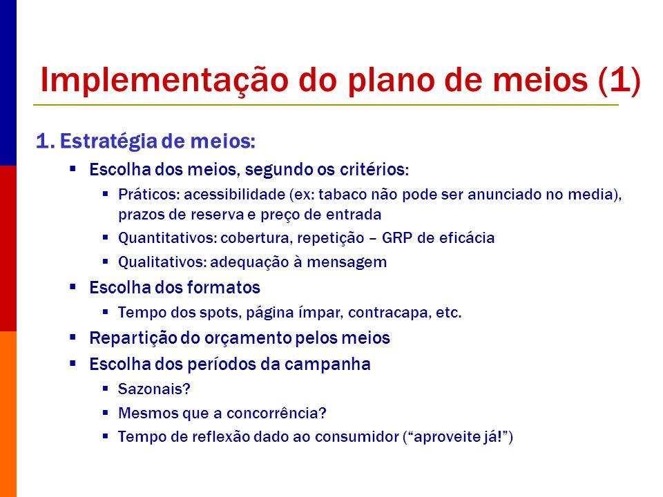 Implementação do plano de meios (1)