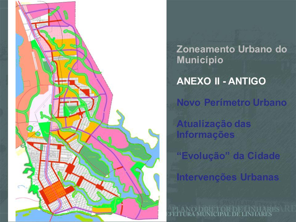 Zoneamento Urbano do Município