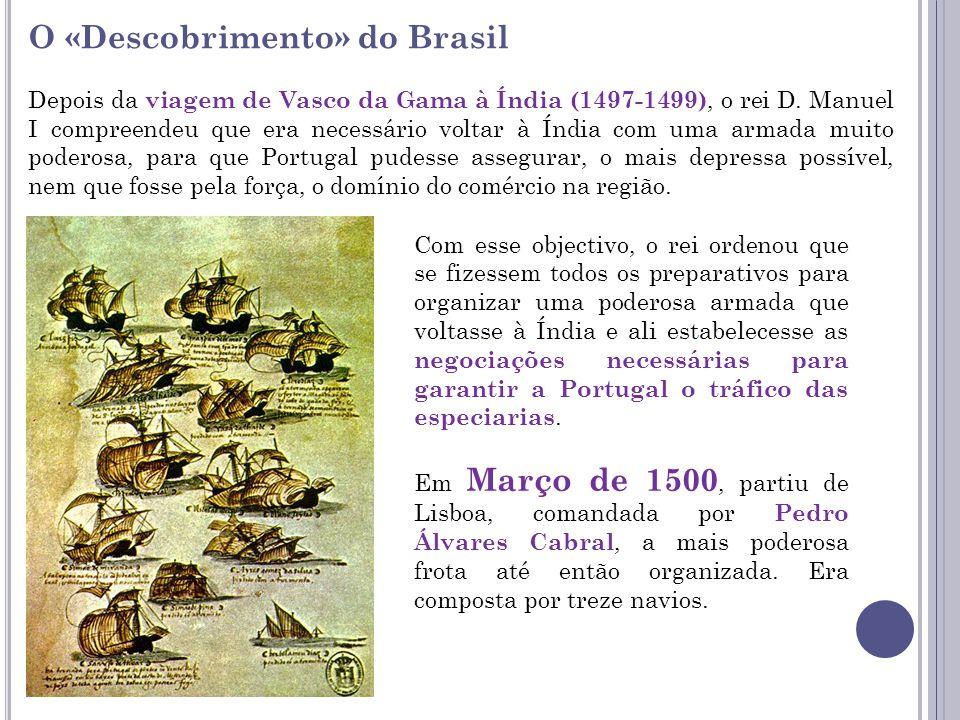 O «Descobrimento» do Brasil