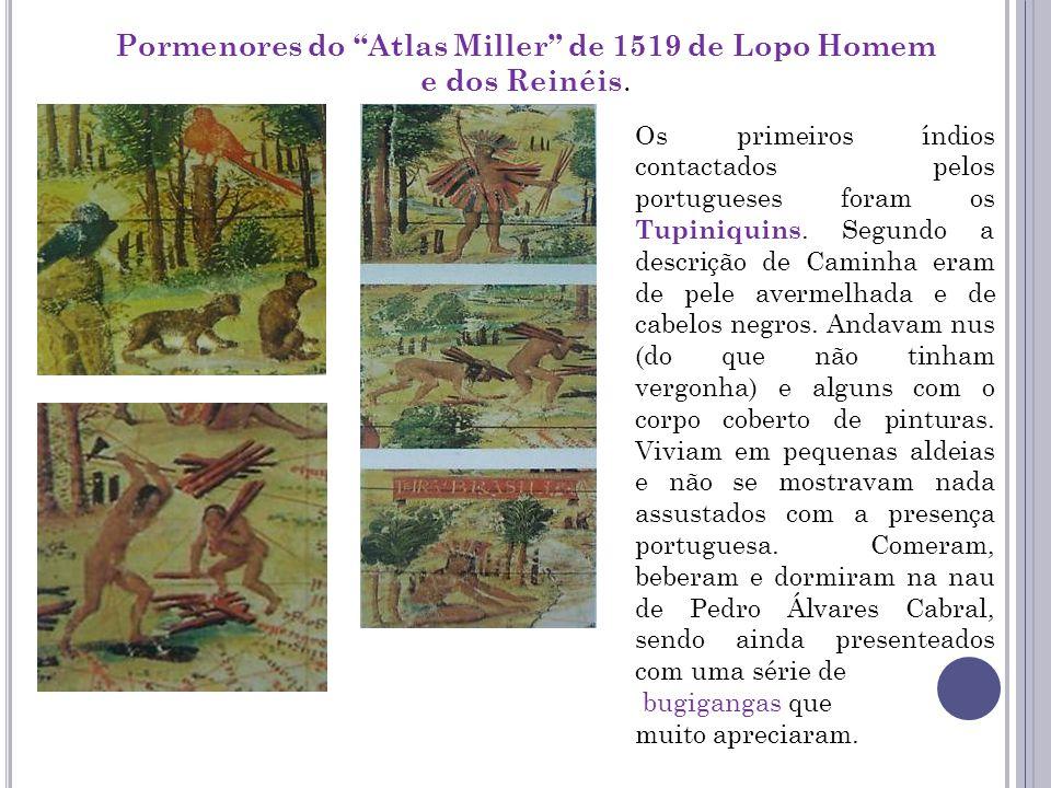 Pormenores do Atlas Miller de 1519 de Lopo Homem