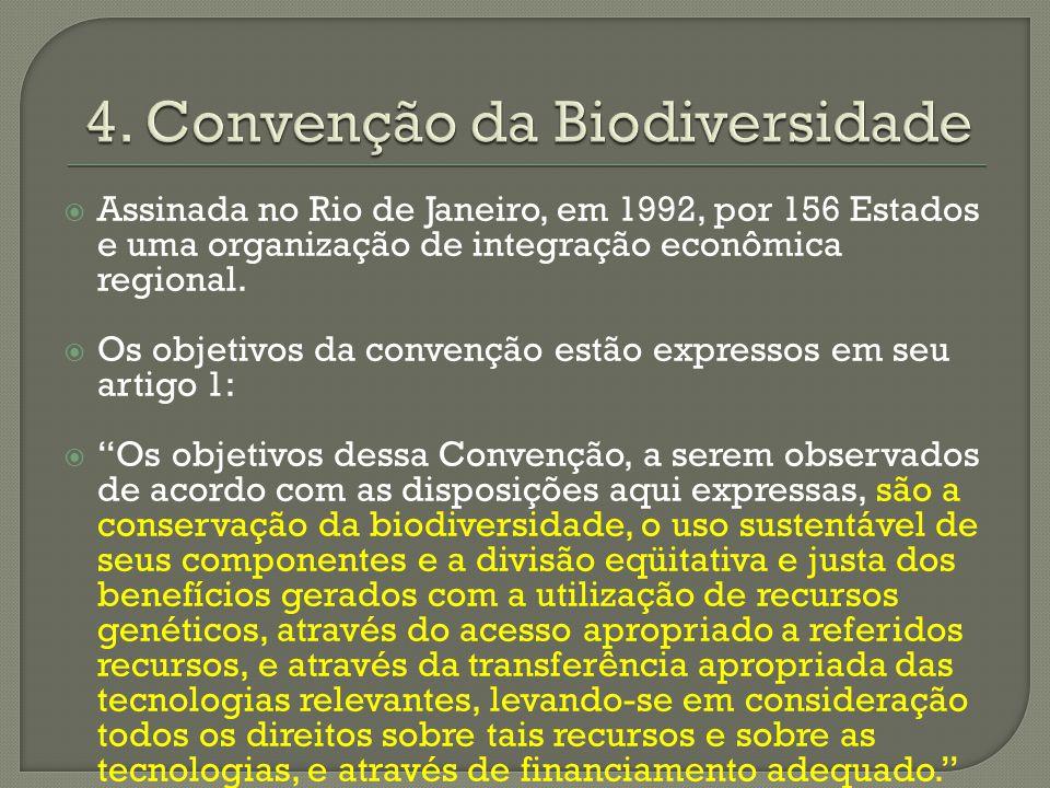 4. Convenção da Biodiversidade