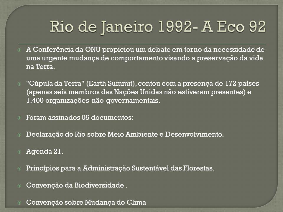 Rio de Janeiro 1992- A Eco 92
