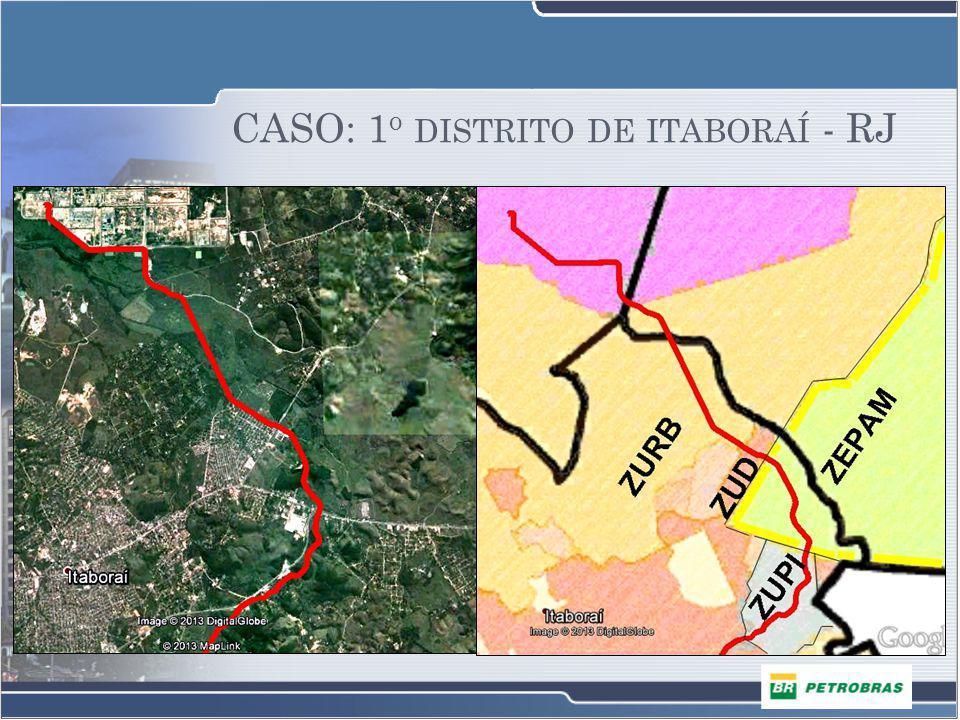 CASO: 1o distrito de itaboraí - RJ