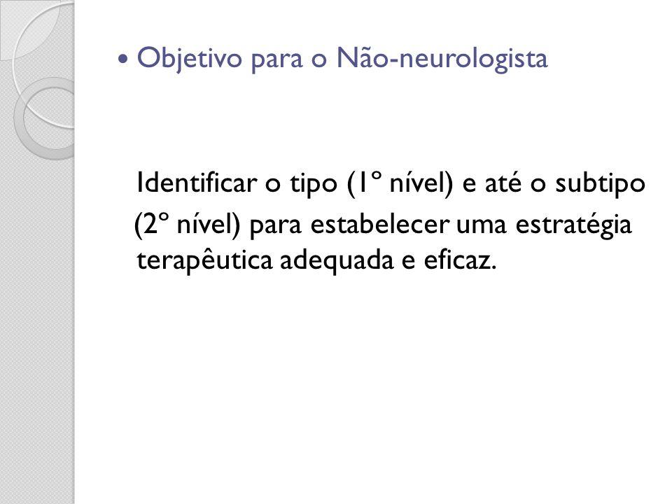 Objetivo para o Não-neurologista
