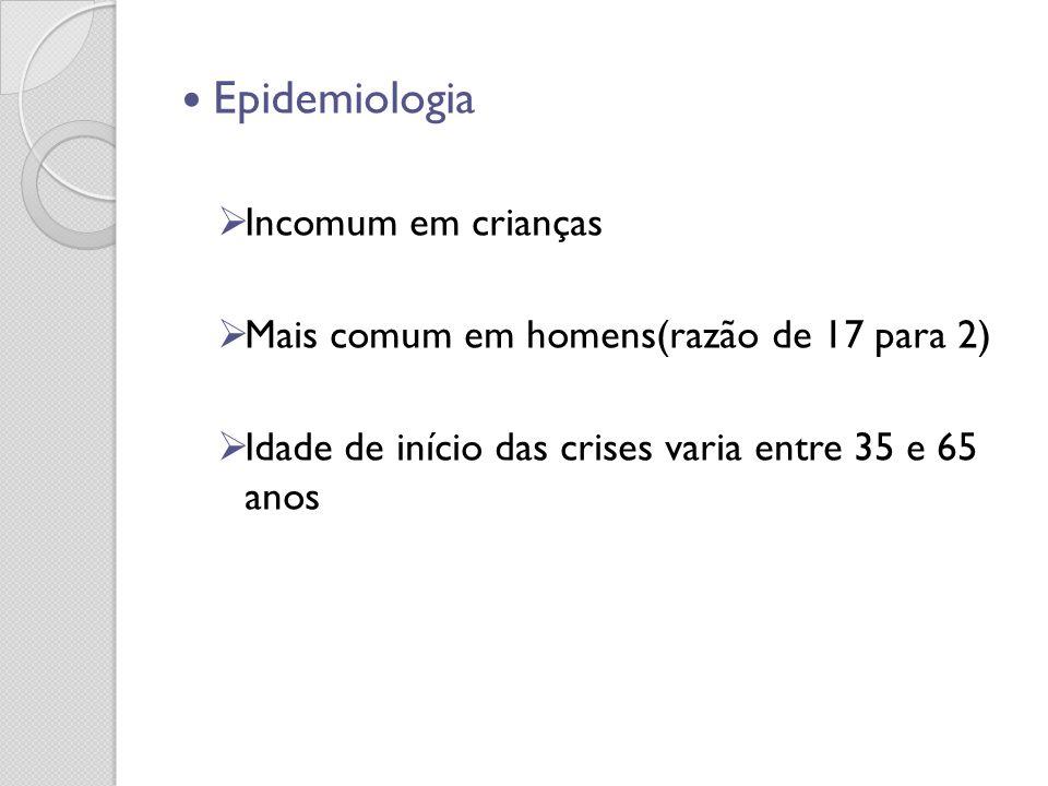 Epidemiologia Incomum em crianças