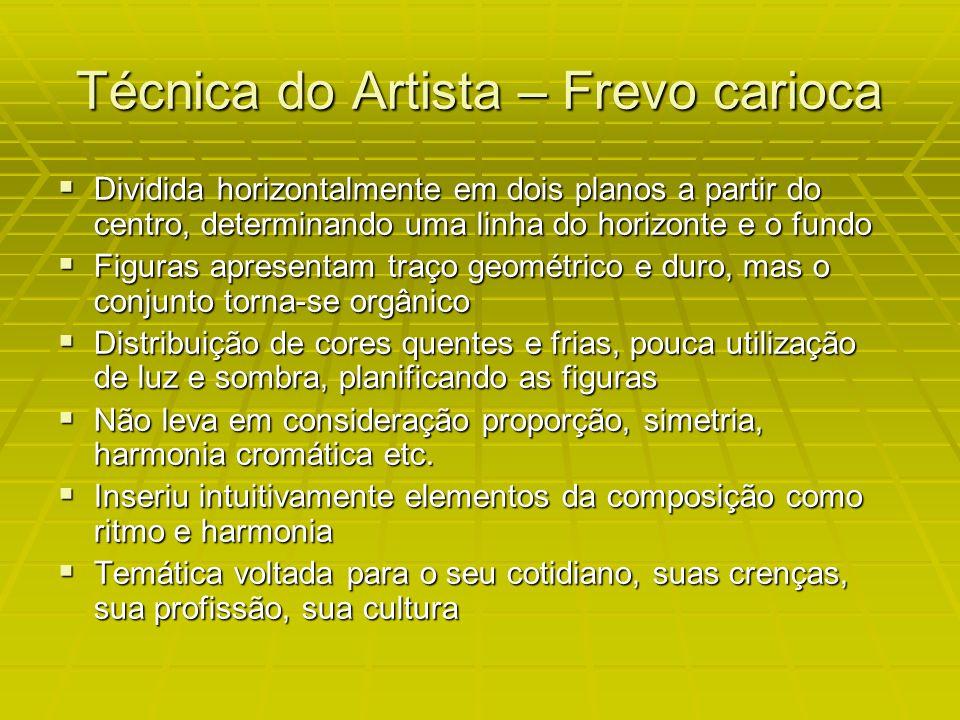Técnica do Artista – Frevo carioca